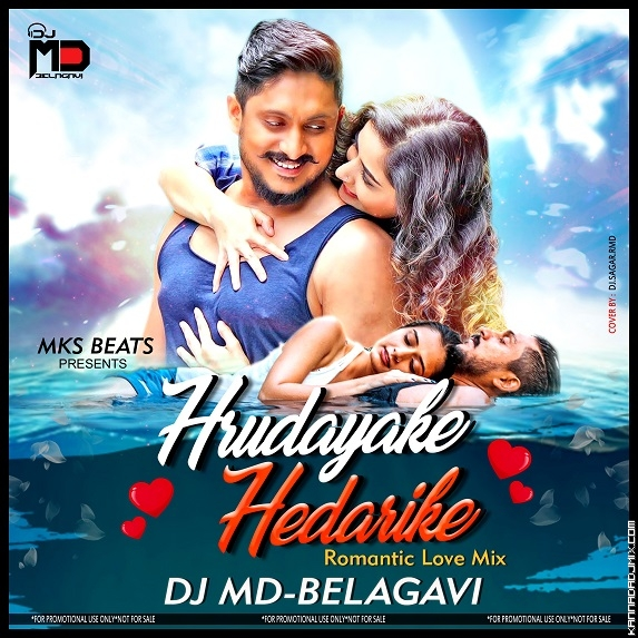 HRUDAYADA HEDARIKE ROMANTIC LOVE MIX [DJ MD BELAGAVI ft.mp3
