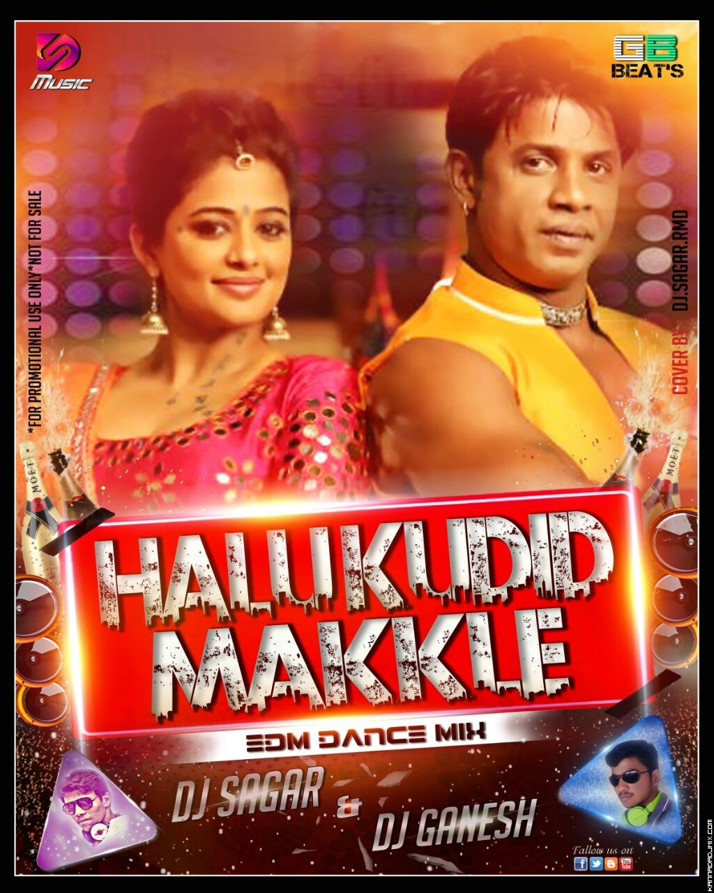 HALU KUDIDA MAKLU EDM MIX DJ GANESH AND DJ SAGAR.mp3