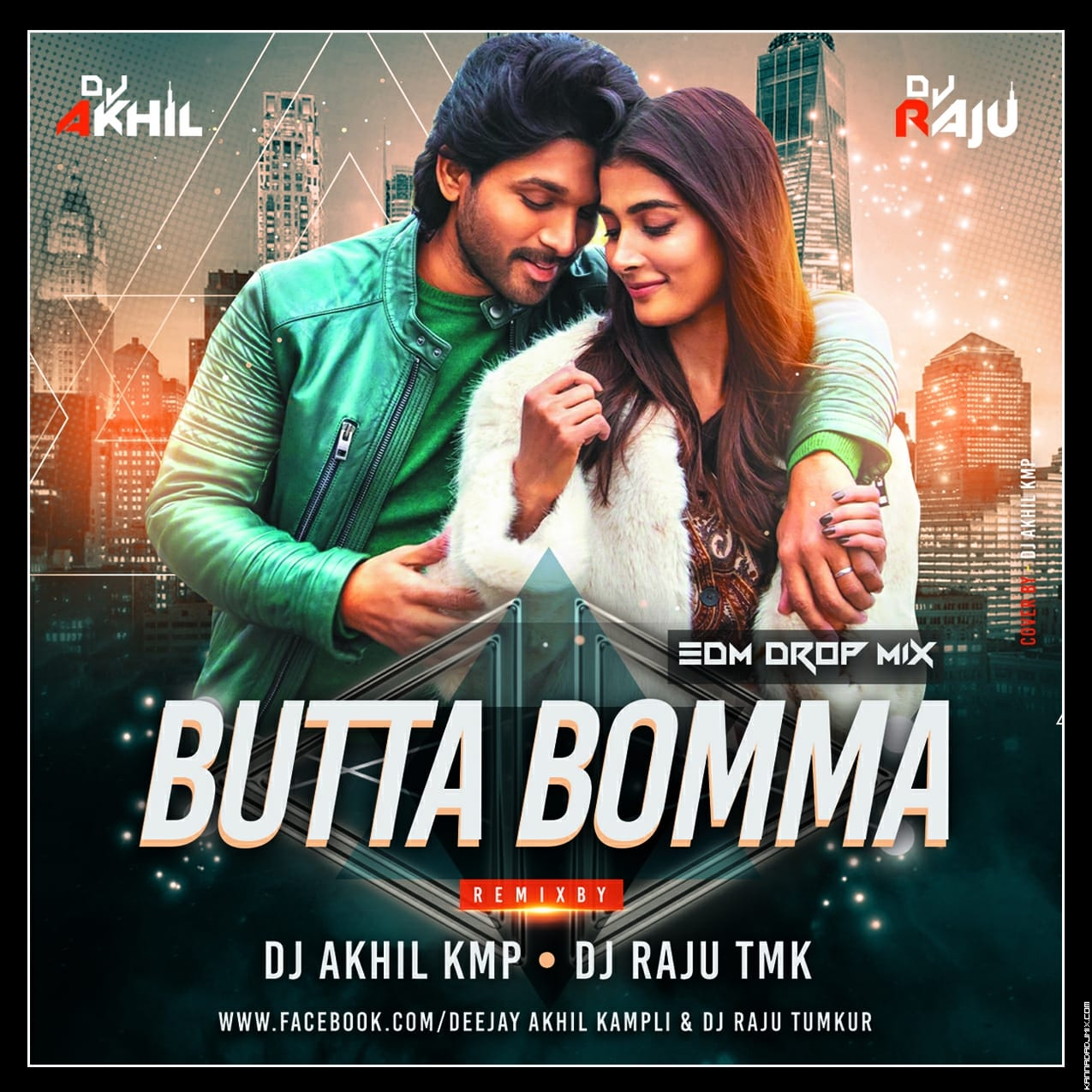 BUTTA BOMMA EDM MIX DJ AKHIL KMP X DJ RAJU TMK.mp3