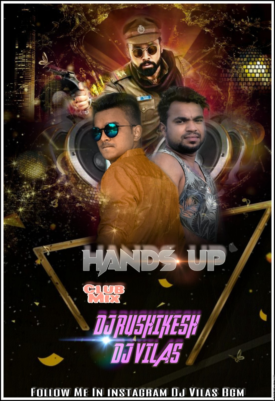 HANDS UP REMIX BY DJ RUSHIKESH   DJ VILAS.mp3