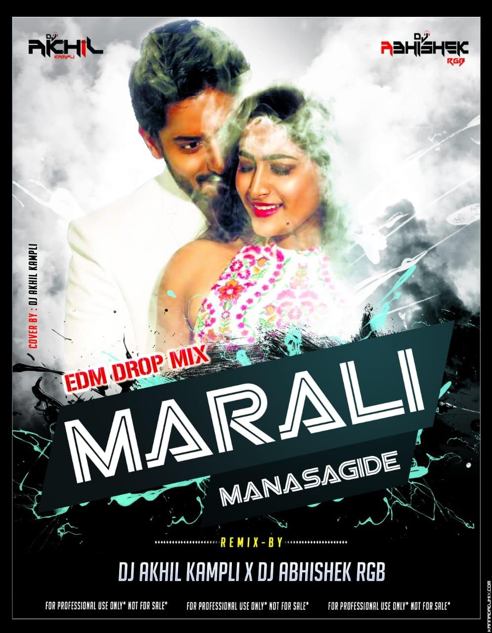 MARALI MANASAAGIDE DJ ABHISHEK RBG X DJ AKHIL KAMPLI.mp3
