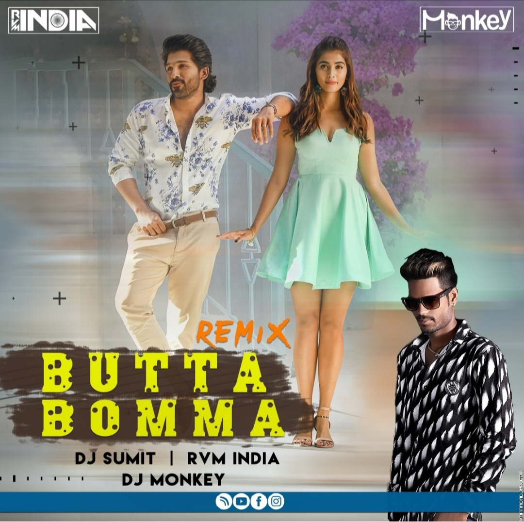 Butta Bomma Remix Dj Monkey X Dj Sumit X Dj Rvm India.mp3