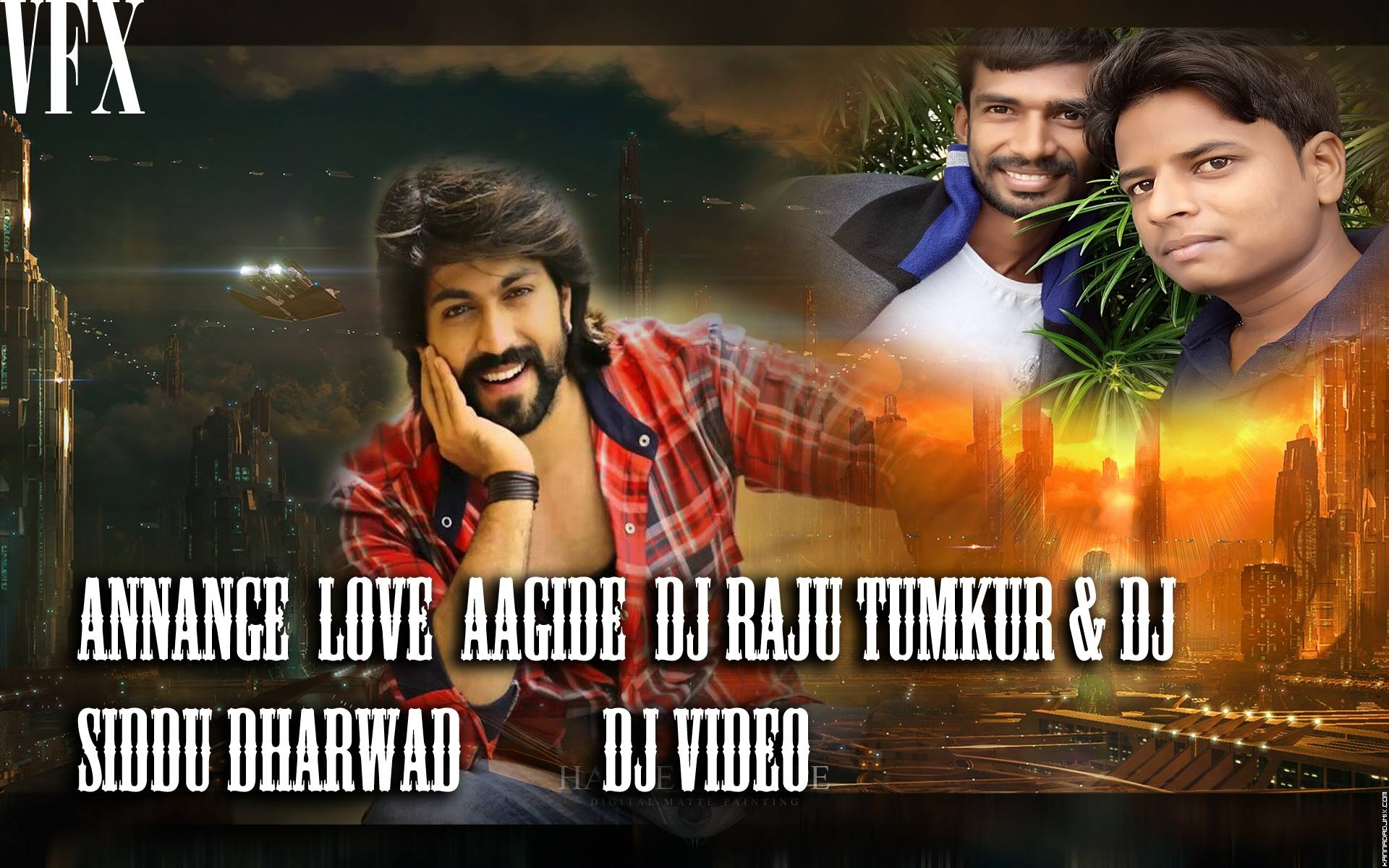 ANNANGE LOVE AAGIDE(DJ RAJU &DJ SIDDU DHARWAD(DJ VIDEO.mp4
